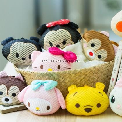 Korean style cute bath ball 韓式可爱沐浴球